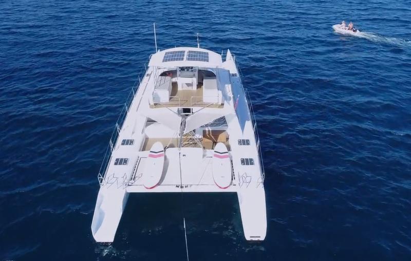 Catamaran nav 2