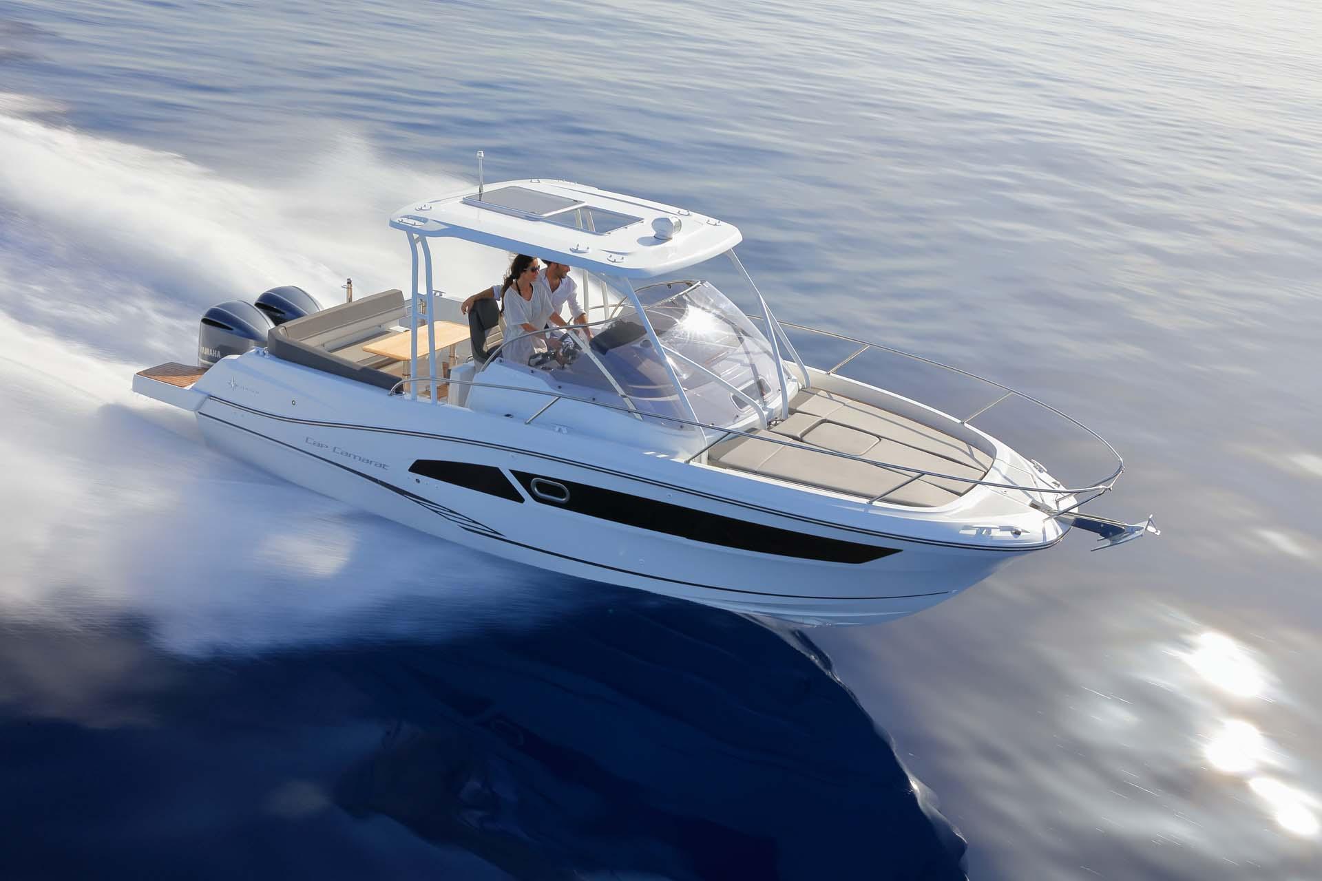 Cap Camarat 9.0 WA en mer
