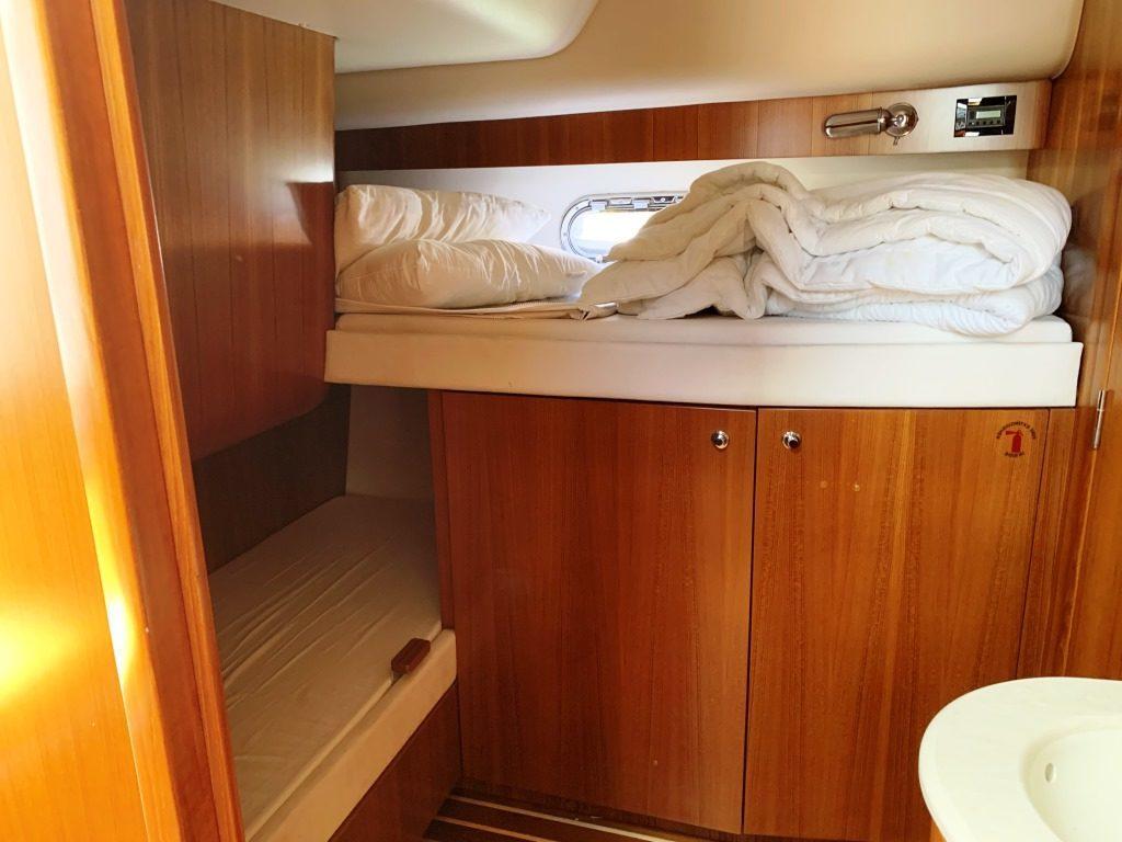 cabine 2 lits simple
